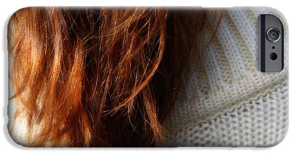 Hairstyle Digital iPhone Cases - The Sweater  iPhone Case by Steven  Digman