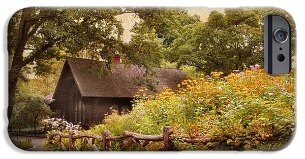 Charming Cottage iPhone Cases - The Swedish Cottage iPhone Case by Jessica Jenney