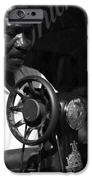 The Tailor - Tanzania iPhone Case by Aidan Moran