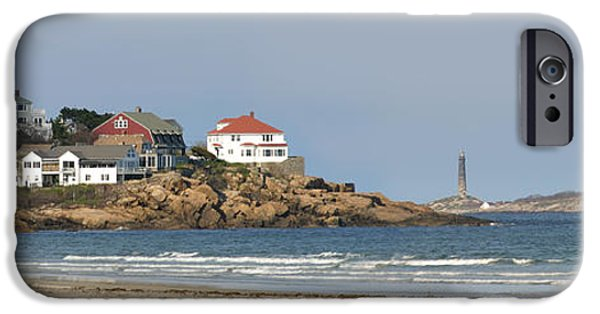 New England Lighthouse iPhone Cases - The Tallest Lighthouses in Massachusetts iPhone Case by Michelle Wiarda