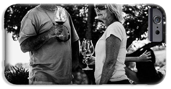 Winetasting iPhone Cases - The Taste iPhone Case by  Kelly Hayner