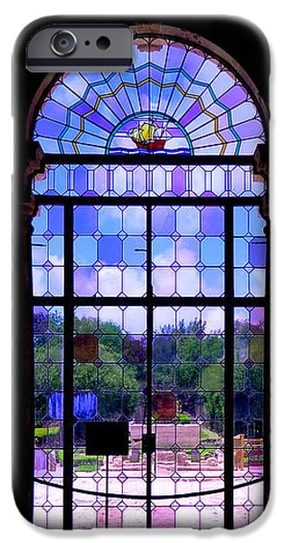The Tea Room Vizcaya Museum and Gardens Biscayne Bay Miami Florida iPhone Case by Amy Cicconi