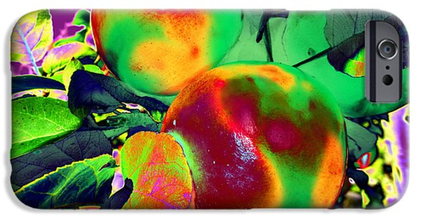 Strange iPhone Cases - The Temptation iPhone Case by Martin Howard