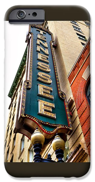 David Patterson iPhone Cases - The Tennessee Theatre - Knoxville Tennessee iPhone Case by David Patterson