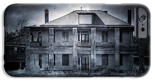 Best Sellers -  - Creepy iPhone Cases - TCM - Hewitt House #9 iPhone Case by Trish Mistric