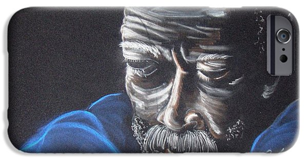 Thinking Pastels iPhone Cases - The Thinker iPhone Case by Charlie Black