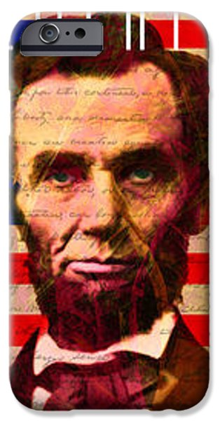 The Three Abes 20140218 iPhone Case by Wingsdomain Art and Photography