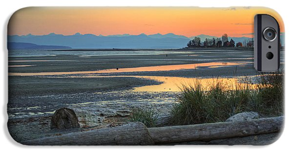 Bc Coast iPhone Cases - The Tide is Low iPhone Case by Randy Hall
