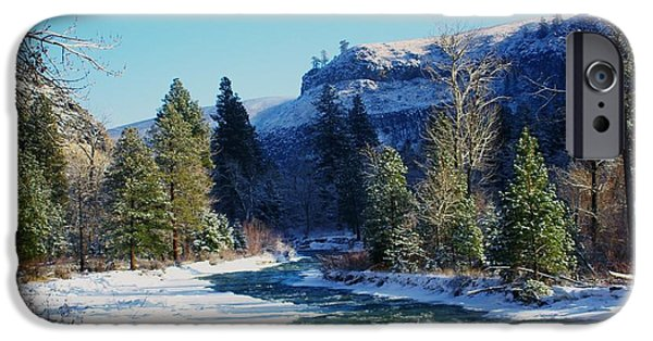 Oak Creek iPhone Cases - The Tieton River iPhone Case by Jeff  Swan