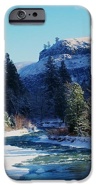 THE TIETON RIVER iPhone Case by Jeff  Swan