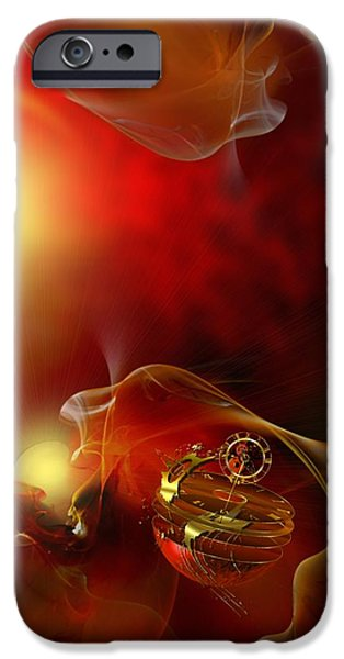The time born in the shine of his majesty iPhone Case by Franziskus Pfleghart