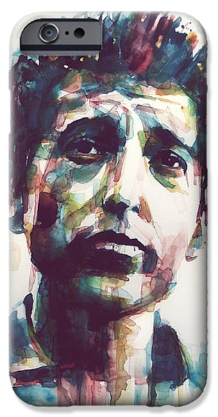 Lips iPhone Cases - The Times They Are A Changing  iPhone Case by Paul Lovering