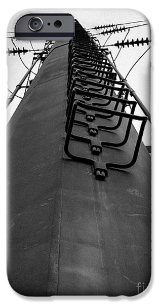 Power Photographs iPhone Cases - The Tower iPhone Case by Edward Fielding
