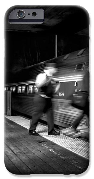 The Train Conductor iPhone Case by Bob Orsillo