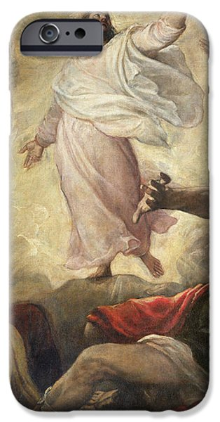 The Transfiguration of Christ iPhone Case by Titian