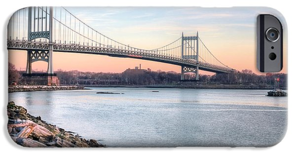 Harlem iPhone Cases - The Triboro Bridge iPhone Case by JC Findley