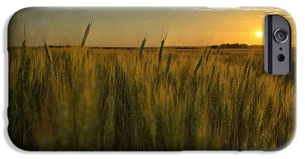 Nebraska Photographs iPhone Cases - The Turn iPhone Case by Thomas Zimmerman