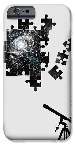 Astrophysics iPhone Cases - The unsolved mystery iPhone Case by Neelanjana  Bandyopadhyay