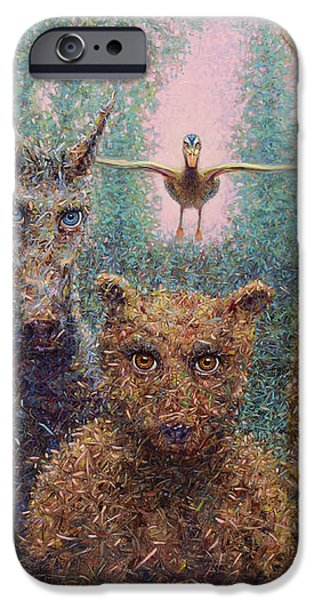 The Untamed iPhone Case by James W Johnson