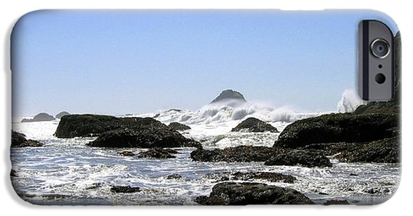 Fury iPhone Cases - The Untamed Sea iPhone Case by Will Borden
