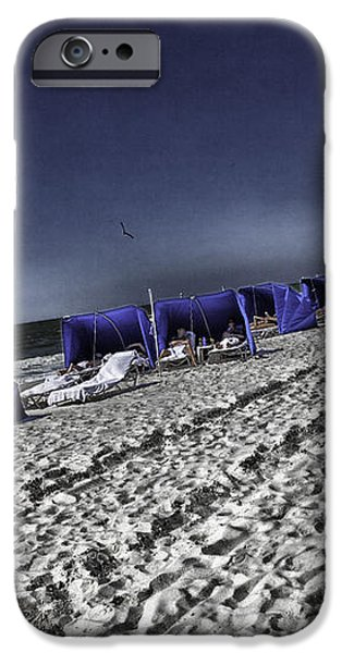The Vacationers 1 iPhone Case by Madeline Ellis