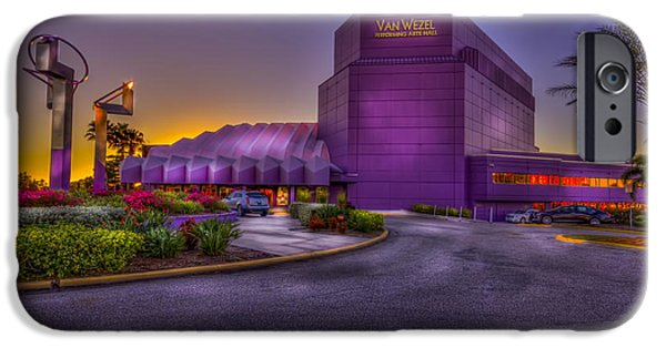 Performing iPhone Cases - The Van Wezel 2  iPhone Case by Marvin Spates
