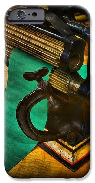 The Victorian Seamstress iPhone Case by Paul Ward