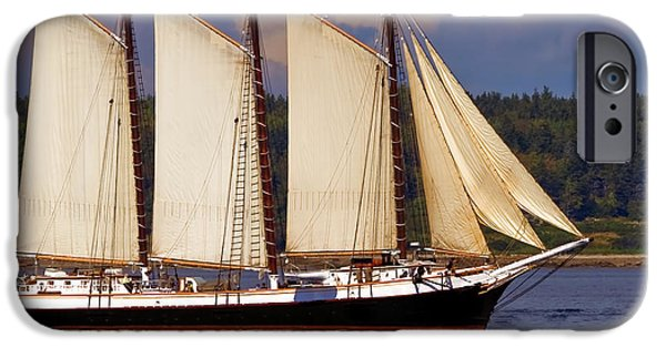 Windjammer iPhone Cases - The Victory Chimes iPhone Case by Jack Zievis