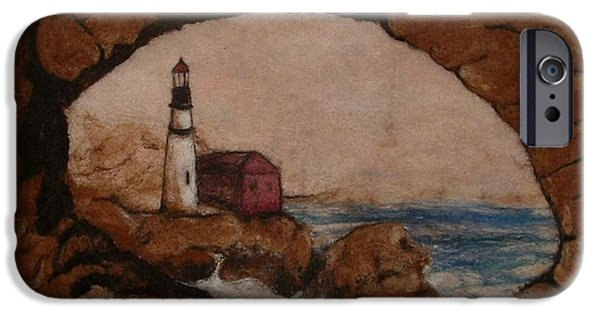 Ocean Tapestries - Textiles iPhone Cases - The View iPhone Case by Bonnie Nash