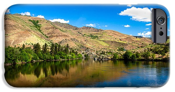 Deep River iPhone Cases - The View From Oxbow Bridge iPhone Case by Robert Bales