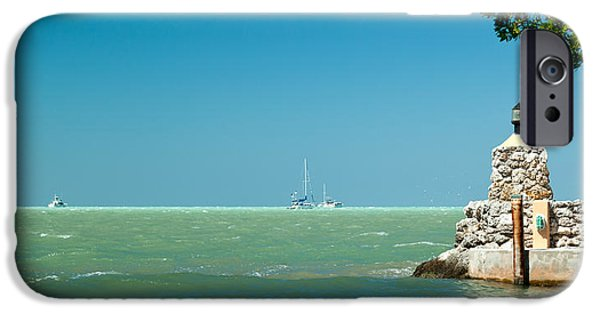 Michelle iPhone Cases - The View From The Mitchells Place in Islamorada iPhone Case by Michelle Wiarda