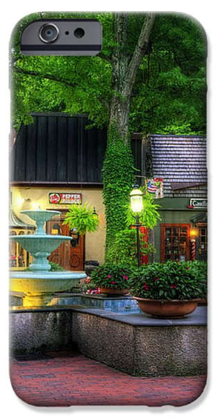 The Village of Gatlinburg iPhone Case by Greg and Chrystal Mimbs