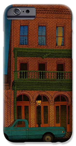 House iPhone Cases - The Visitor iPhone Case by Meg Shearer