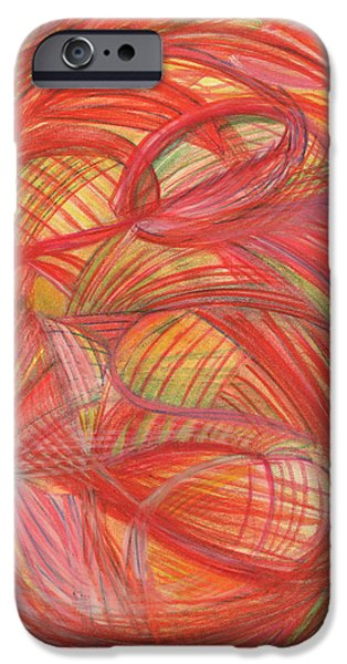 Thought Drawings iPhone Cases - The voice of Daring-Vertical iPhone Case by Kelly K H B