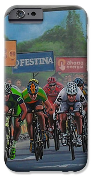 The Vuelta iPhone Case by Paul Meijering