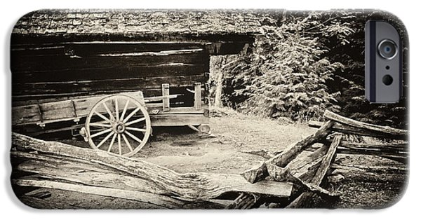 Tn Barn iPhone Cases - The Wagon iPhone Case by Paul W Faust -  Impressions of Light
