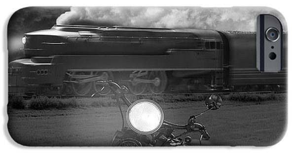 Crossing iPhone Cases - The Wait - Panoramic iPhone Case by Mike McGlothlen