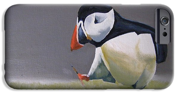 - Occupy Beijing iPhone Cases - The Walking Puffin iPhone Case by Eric Burgess-Ray