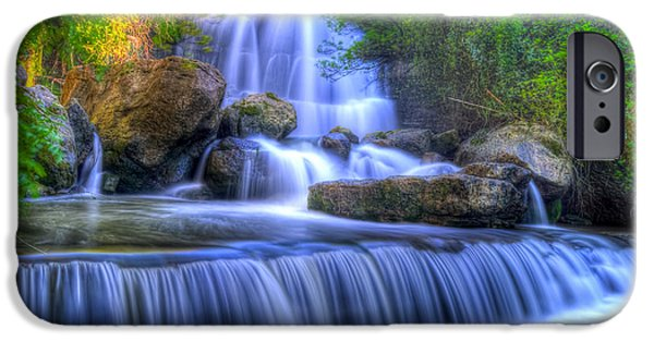 Consumerproduct iPhone Cases - The Waterfall I iPhone Case by Alexandre Martins