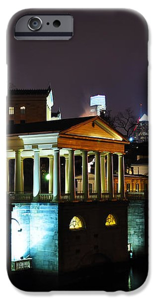 The Waterworks at Night iPhone Case by Bill Cannon