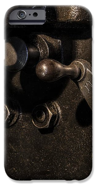 The Way Back Machine iPhone Case by Andrew Pacheco
