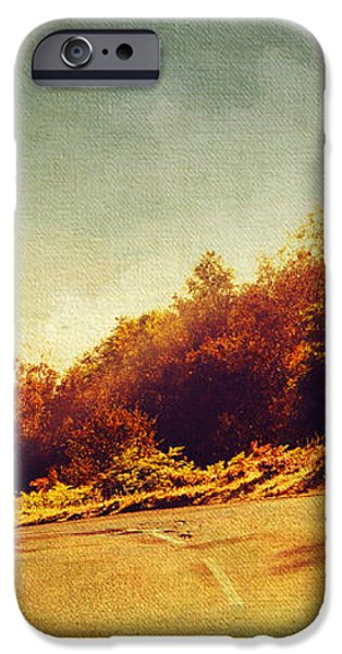 The Way Down. Trossachs National Park. Scotland iPhone Case by Jenny Rainbow