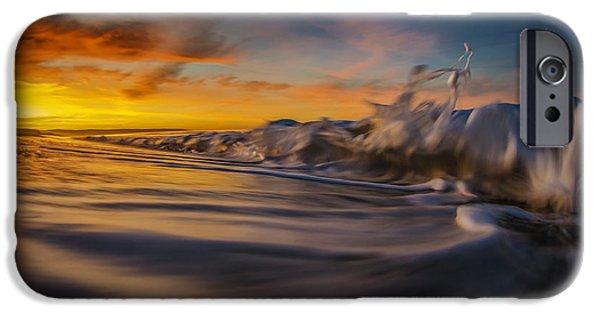 Blast iPhone Cases - The Way of the Wave iPhone Case by Sean Foster