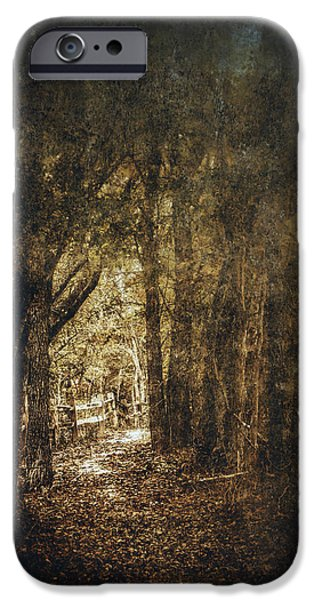 Scary Digital Art iPhone Cases - The Way Out iPhone Case by Scott Norris