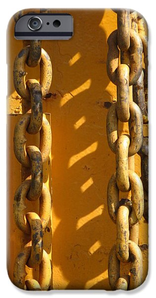 Connection iPhone Cases - The Weakest Link iPhone Case by Bill Tomsa