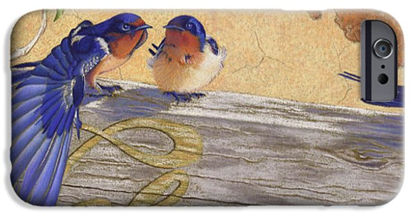 Rust Pastels iPhone Cases - The Welcome Committee iPhone Case by Tracy L Teeter