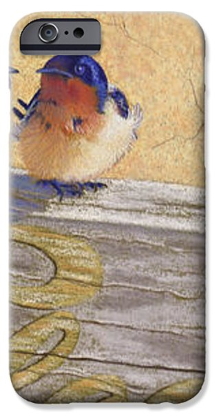 The Welcome Committee iPhone Case by Tracy L Teeter