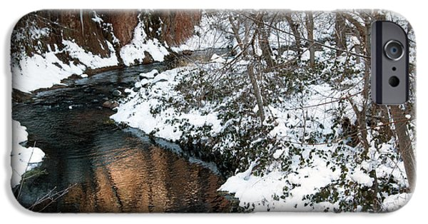 West Fork iPhone Cases - The West Fork Creek iPhone Case by Tam Ryan