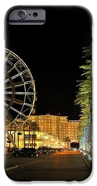 The Wharf at Night  iPhone Case by Michael Thomas