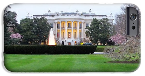 White House iPhone Cases - The White House 2004 iPhone Case by Jack Schultz